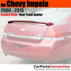 Painted Trunk Spoiler For 2006 2013 Chevrolet Chevy Impala Lt Wa946l Cobalt Red