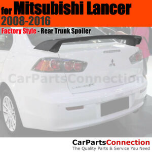 Painted Abs Trunk Spoiler For 2008 2013 Mitsubishi Lancer D06 Octane Blue Pearl
