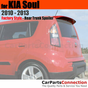 Painted Trunk Spoiler For 2010 2013 Kia Soul Sport Flush Mount 3d Bright Silver