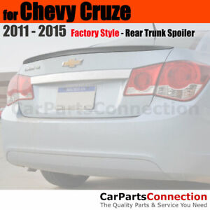Painted Abs Trunk Spoiler For 11 Chevy Cruze Sedan Wa505q Crystal Red Metallic