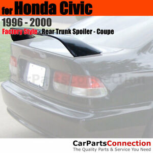 Painted Abs Rear Trunk Spoiler For 96 00 Honda Civic 2dr Si Nh538 Frost White