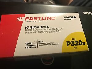 Fastline By Sherwin Williams Commercial 6 Psa Sanding Discs P320 Grit 100 Roll