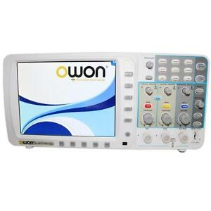 Owon 100mhz Oscilloscope Sds7102 1g s Large 8 Lcd Lan vga battery bag Usa Ship