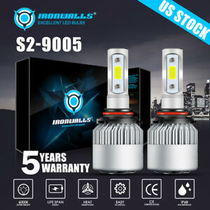 Cree 9005 Hb3 Led Headlight Bulbs Kit 1500w 225000lm Car Truck Light 6000k White