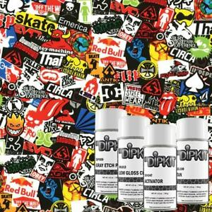 Hydrographic Film Kit Water Transfer Diy Hydro Dip Hydro Dipping Skater Ll 125