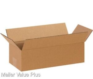 100 14 X 6 X 4 Shipping Boxes Packing Moving Storage Cartons Mailing Box
