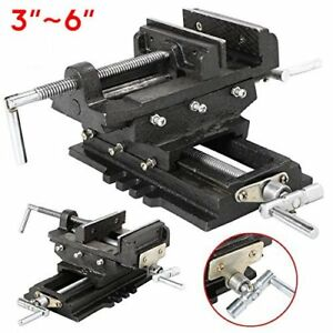 3 4 5 6 Inch Cross Slide Vise Wide Drill Press X Y Clamp Milling 2 Way Hd Oyas