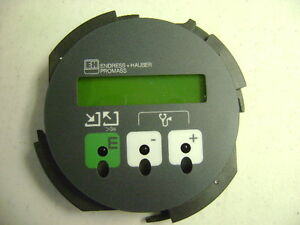 New Endress Hauser Promass Flow Meter Lcd Digital Display Panel Dmc 50589ny ly