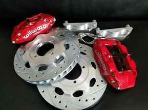 Datsun 510 280zx New Front Disc Brake 6 Piston Wilwood Complete Kit 79 83 Turbo