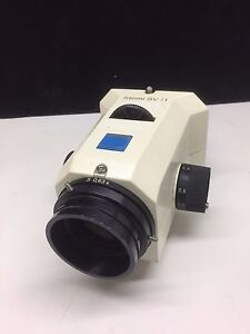Zeiss Stemi Sv11 Stereo Zoom Microscope Stereoscope Body 0 6x To 6 6x