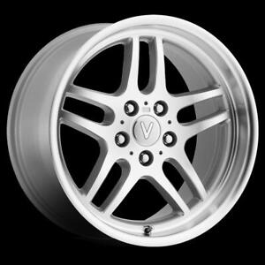 18x8 13 Replica Bmw Tt M parallel Silver Machined Wheel Rim 5x120 qty 1