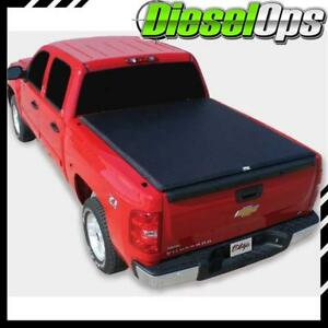 Truxedo Edge Roll up Tonneau Cover For Gm Truck Dually W bed Caps 8 2007 2013