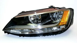 Volkswagen Vw Halogen Headlamp Left some Jetta 2011 2013 Oem Hella 5c7941005