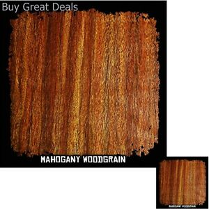 10ft Roll Hydrographics Film Mahogany Wood Grain Water Transfer Printing New