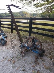 Used 6 Ft Ford 501 Sickle Mower 3 Point