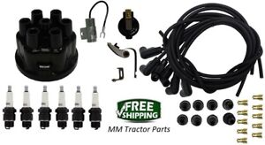 Ignition Tune Up Kit Ih Farmall 6 Cyl Tractor Ih Distributor 368051r1 401107r1