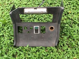Mgb Original Radio Console 1972 76 With Light And Switch Made In England