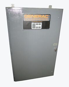Generac 300 Amp Automatic Transfer Switch 3 Phase 3r 480 Volt Model Htsn300k1