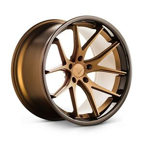 20 Ferrada Fr2 20x9 20x10 5 Bronze Concave Wheels Ford Mustang Gt Gt500 Shelby
