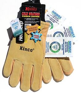 Kinco 901 Ski Work Glove Nikwax Waterproofing Wax 3 sachets