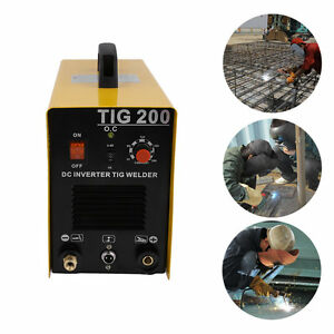 Tig 200 Amp Dc Fh Pulse Dc Inverter Welding Machine Stainless Aluminum Welder q