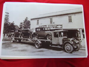 1929 Chevrolet New Cars On Carrier 11 X 17 Photo Picture