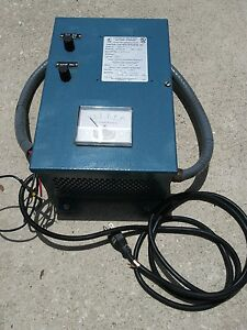 Master Control Systems Automatic Industrial Battery Charger 24 Volt