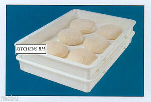 60 Pizza Dough Boxes dough Trays Self stacking