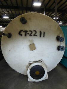 3545 Gallon Poly Cylindrical Tank ct2211