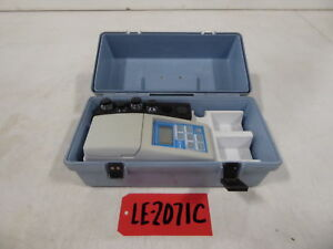 Hach 2100d Turbidity Tester le2071c