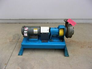 Worthington 3 Hp 2 Inlet 1 5 Outlet Centrifugal Pump cp2094
