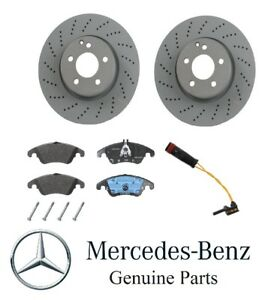 Genuine For Mercedes C204 C212 E250 E350 Front Disc Brake Rotors