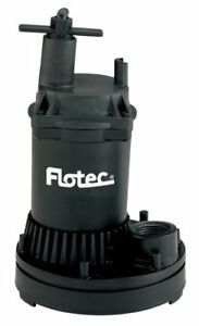 Flotec Fp0s1250x 02 Tempest Ii 1200 Gph Utility Submersible Pump
