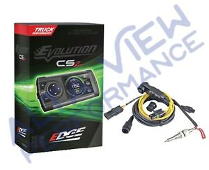 Edge Evolution Cs2 Monitor W egt Cable For 2004 5 2007 Dodge Cummins 5 9l