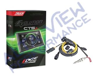 Edge Evolution Cts2 Monitor W Egt Cable For 2007 5 2012 Dodge Cummins 6 7l