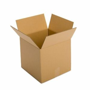 Moving Box Cardboard Ship Boxes 25 Pack 14x14x14 Mailing Storage Packing Moving