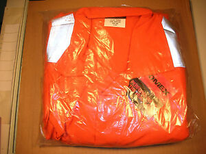Saf tech Fr Flame Resistant Dupont 6 0 Nomex 6 Pocket Coveralls 3xl 54 56 New