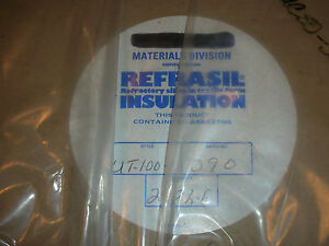 Refrasil Silica Woven Tape High Heat Temperature Insulation 1 X 298 Ft 1800f