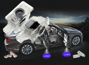 2 Laser Car Led Projector Door Lamp Ghost Shadow Welcome Light For Volvo S80 S60