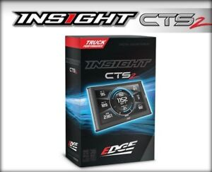 Edge Insight Cts2 Monitor For 2011 2016 Chevy gmc Gas