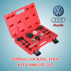 Timing Locking Tool Kit For 08 13 Audi Vw 2 0 Turbo Tfsi Eos Gti A6 A5 A4 A3 Q5