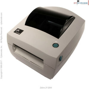 Zebra Lp 2844 Direct Thermal Printer lp2844