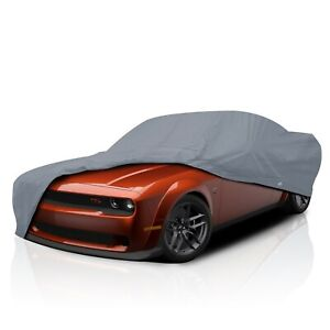 csc Breathable Waterproof Full Car Cover For Dodge Challenger 1970 2018