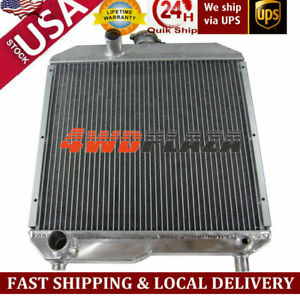 Tractor Aluminum Radiator For Ford Holland 1510 1710 Sba310100291 Sba310100440