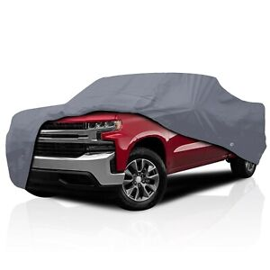 csc 4 Layer Full Truck Car Cover For Chevy Silverado 3500 Crew Cab Dually 2006