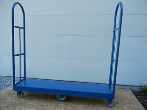 U Boat Stock Cart Used Very Clean Grocery Dolly Platform Truck