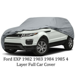 Full Car Cover Ford Exp 1982 1983 1984 1985