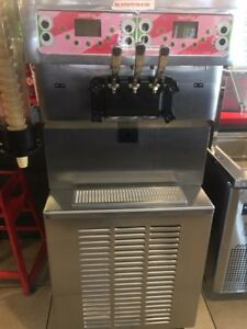 Sumstar Model S850c Stainless Steel Commercial Soft Ice Cream Machine On Commerc