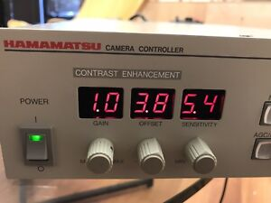 Hamamatsu C2741 Digital Camera Control Unit 110v 50 60hz Great Shape