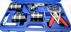 Us Pro Piston Ring Service Tool Set Kit Removal Pliers Cleaning Repair 5589